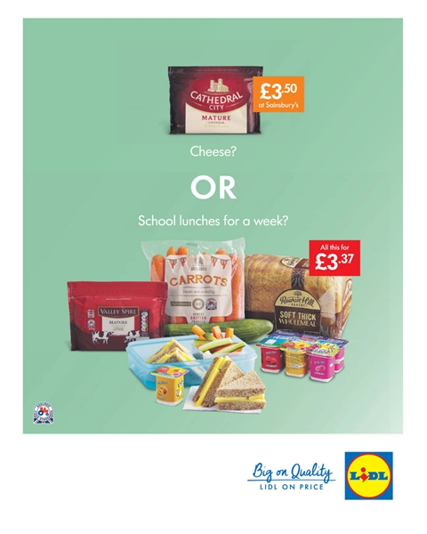Supermarket Point of sale promotion